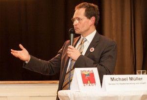 Stadtentwicklungssenator Michael Müller